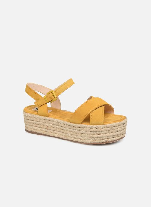 Espadrilles MTNG 58199 Yellow detailed view/ Pair view