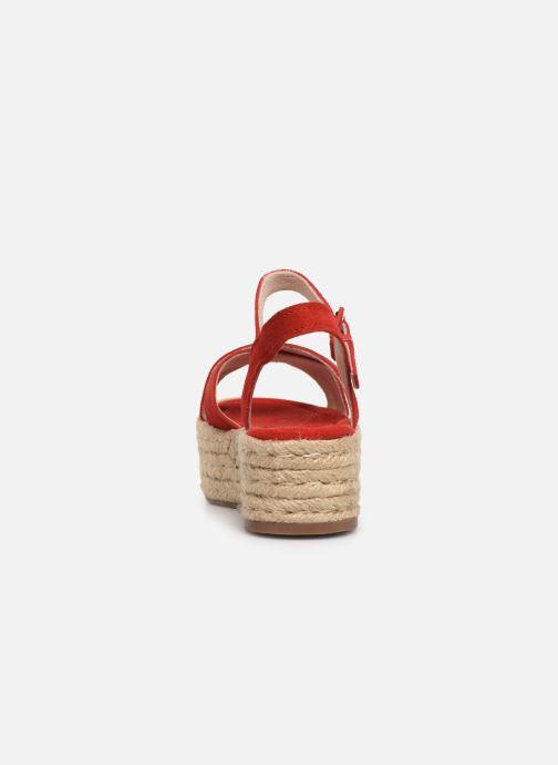 Scarpe di corda MTNG 58199 Rosso immagine destra