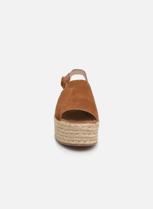 Espadrilles MTNG 58201 Marron vue portées chaussures