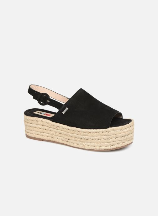 Espadrilles MTNG 58201 Black detailed view/ Pair view