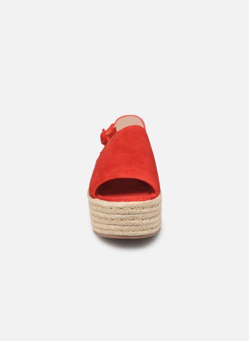 Espadrilles MTNG 58201 Rouge vue portées chaussures
