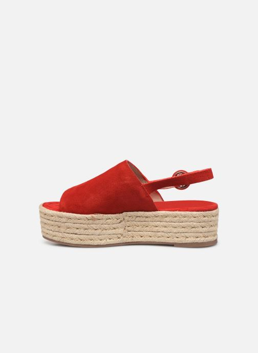 Espadrilles MTNG 58201 Red front view
