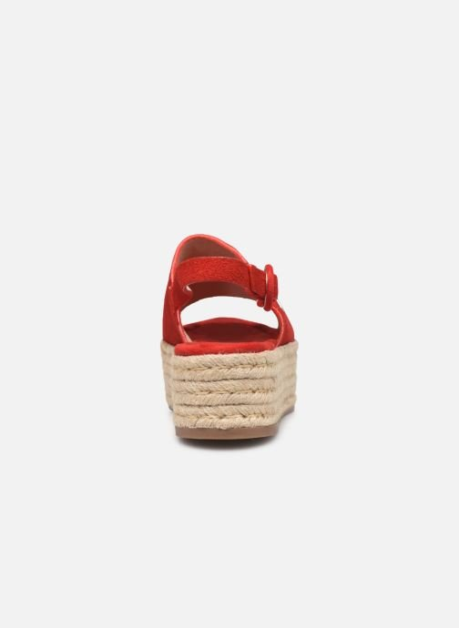 Espadrilles MTNG 58201 Red view from the right