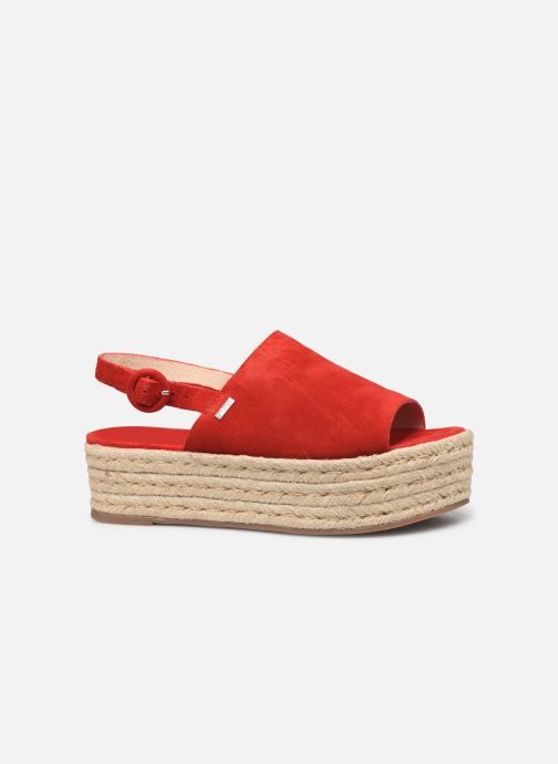 Espadrilles MTNG 58201 Red back view