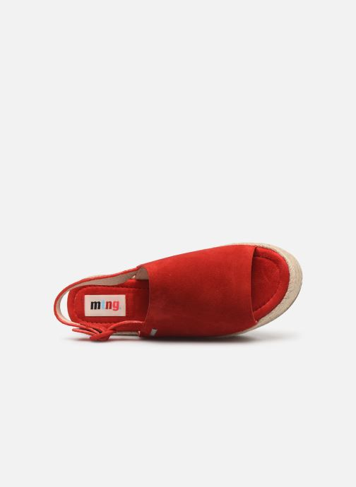 Espadrilles MTNG 58201 Red view from the left
