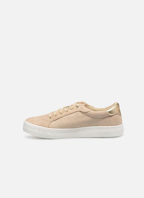Sneaker MTNG 69439 beige ansicht von vorne