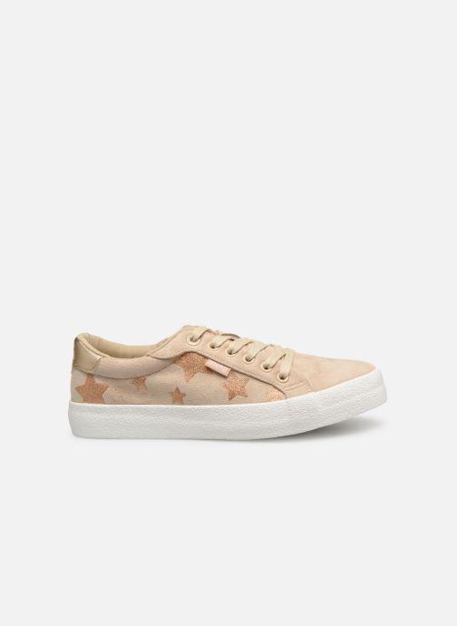 Sneaker MTNG 69439 beige ansicht von hinten