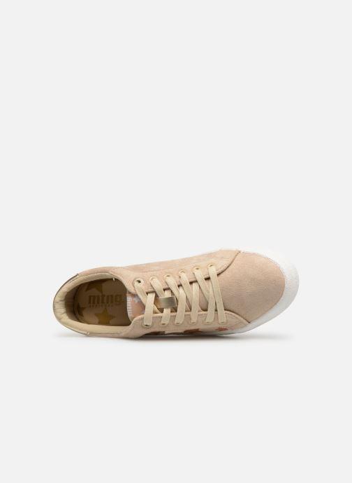 Sneaker MTNG 69439 beige ansicht von links