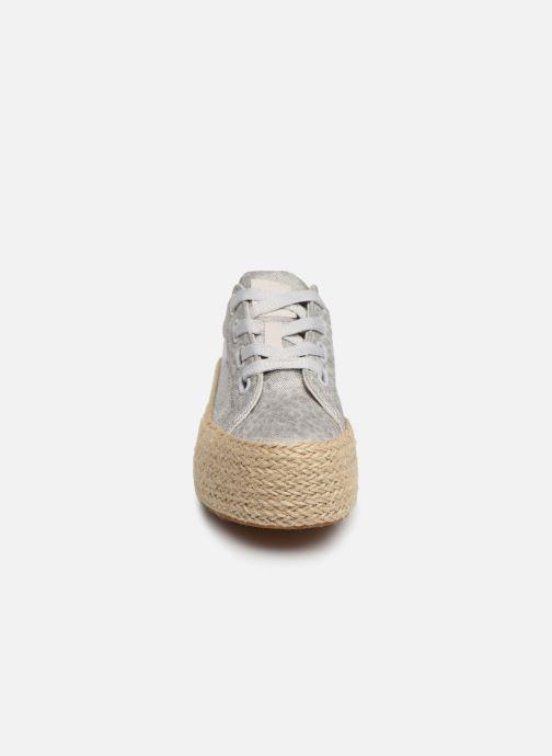 Baskets MTNG 69476 Argent vue portées chaussures