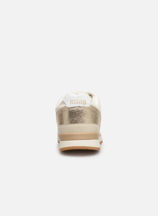 Baskets MTNG 69486 Blanc vue droite