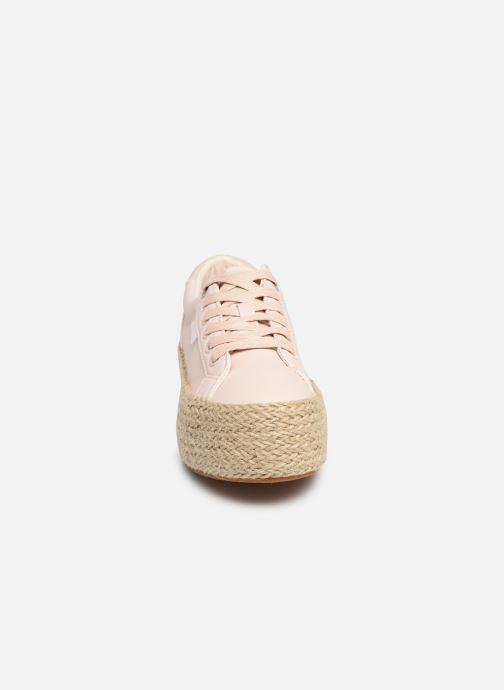 Baskets MTNG 69492 Rose vue portées chaussures