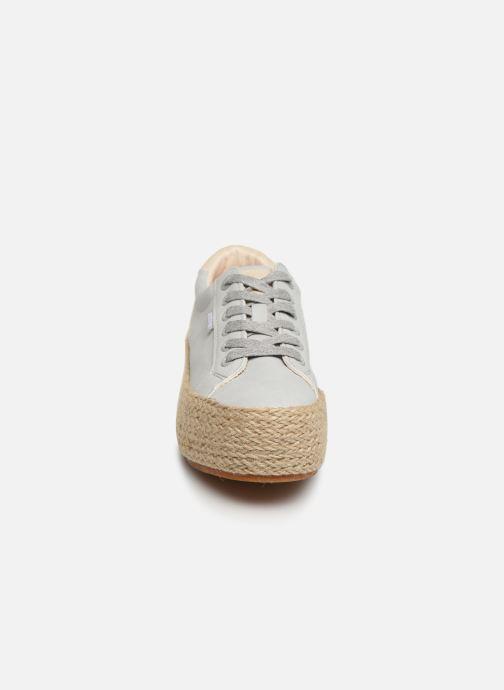 Sneaker MTNG 69492 blau schuhe getragen