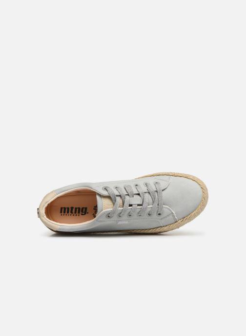 Sneaker MTNG 69492 blau ansicht von links