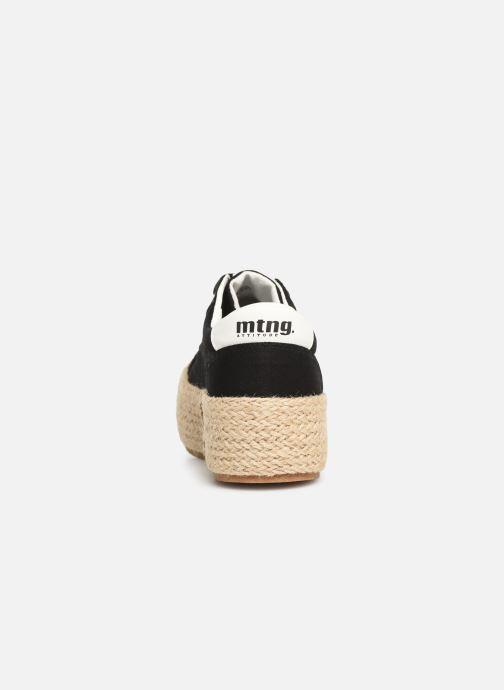 Baskets MTNG 69492 Noir vue droite