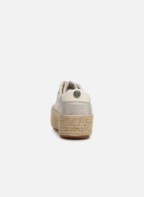 Baskets MTNG 69492 Argent vue droite
