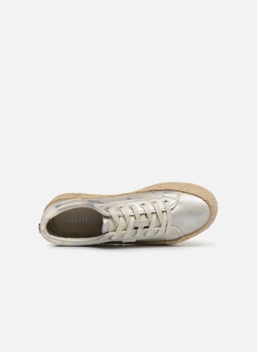 Sneakers MTNG 69492 Argento immagine sinistra