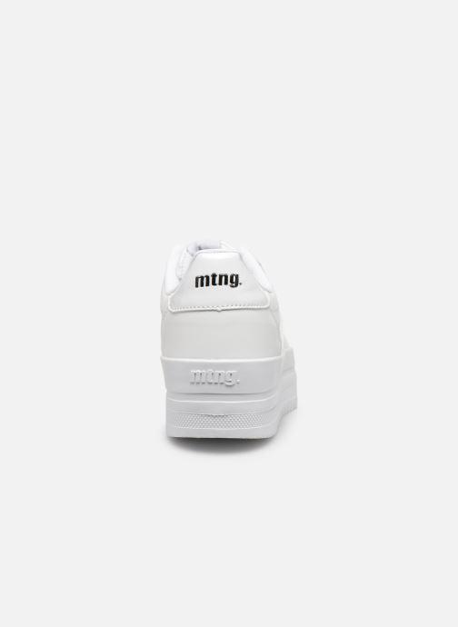 Baskets MTNG 69550 Blanc vue droite