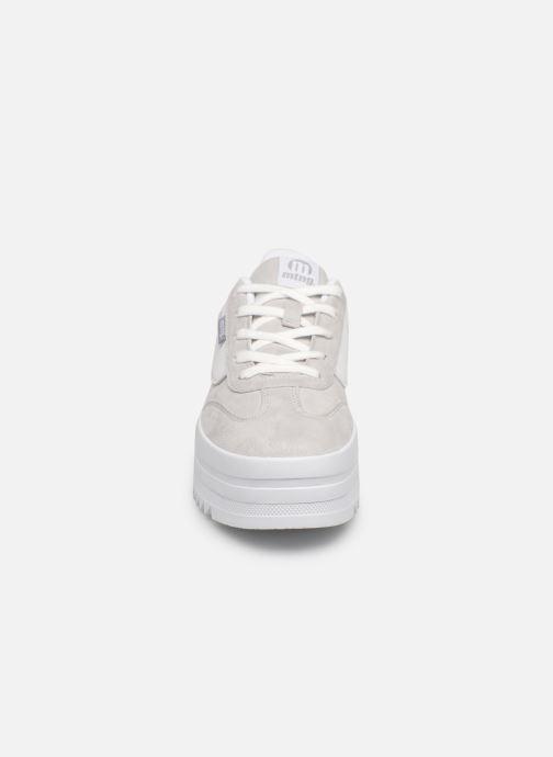Baskets MTNG 69550 Gris vue portées chaussures