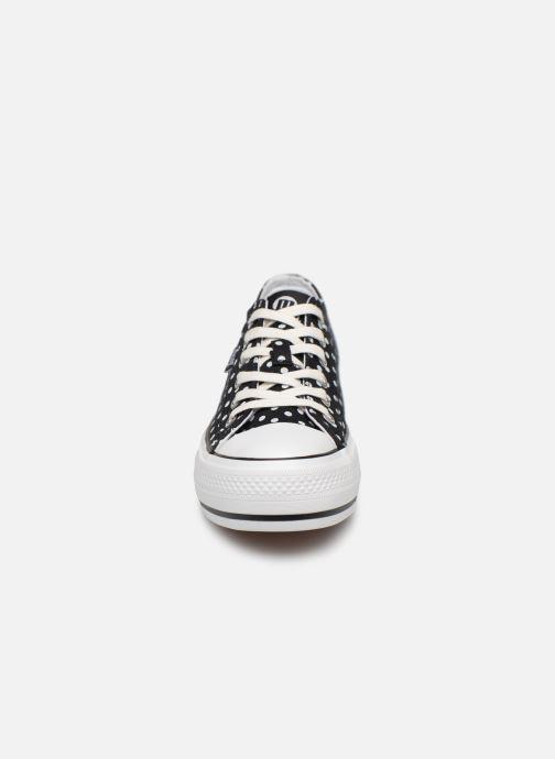Baskets MTNG 69574 Noir vue portées chaussures