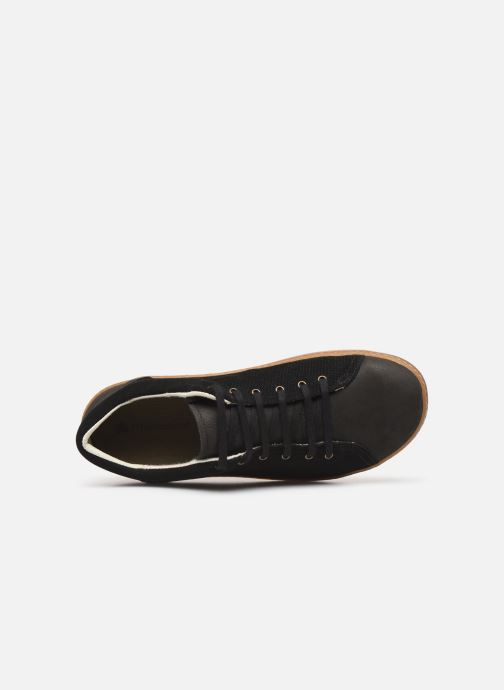 Trainers El Naturalista Meteo NF64 Black view from the left