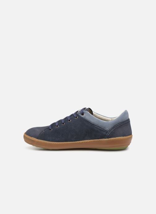 Trainers El Naturalista Meteo NF64 Blue front view