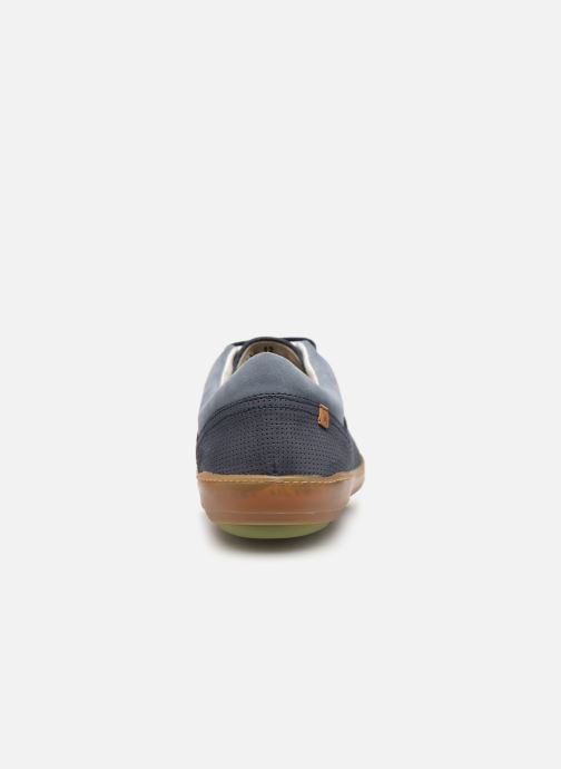 Trainers El Naturalista Meteo NF64 Blue view from the right