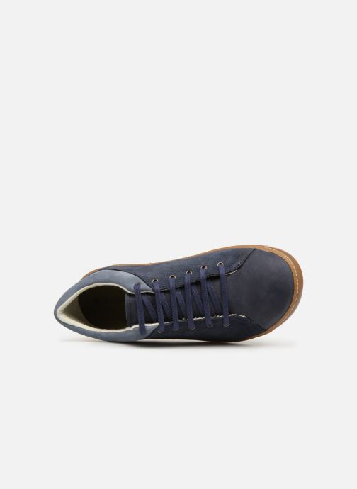 Trainers El Naturalista Meteo NF64 Blue view from the left