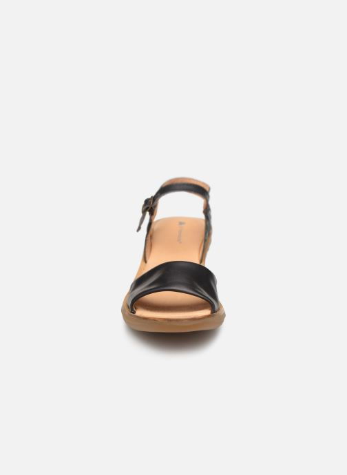 Sandali e scarpe aperte El Naturalista Vaquetilla N5350 Nero modello indossato