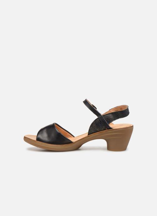 Sandals El Naturalista Vaquetilla N5350 Black front view