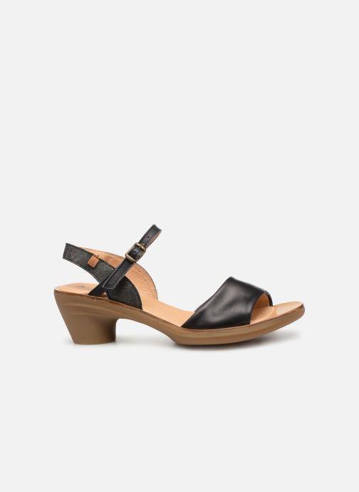 Sandales et nu-pieds El Naturalista Vaquetilla N5350 Noir vue derrière