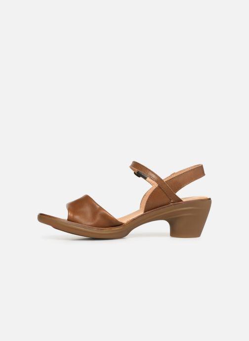 Sandales et nu-pieds El Naturalista Vaquetilla N5350 Marron vue face