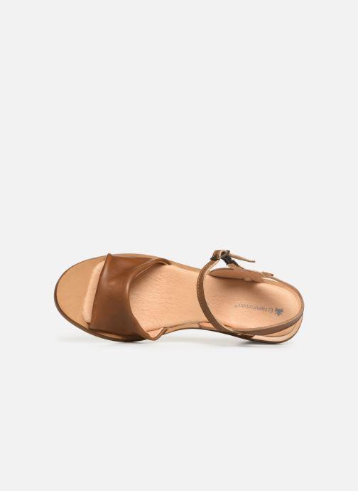 Sandales et nu-pieds El Naturalista Vaquetilla N5350 Marron vue gauche