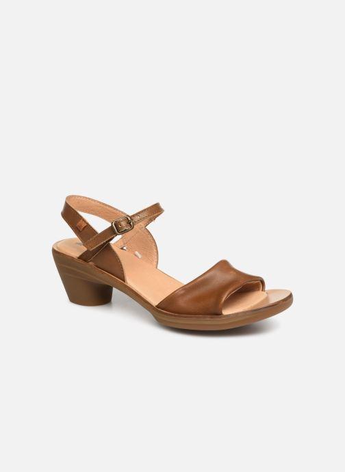 Sandales et nu-pieds El Naturalista Vaquetilla N5350 Marron vue détail/paire