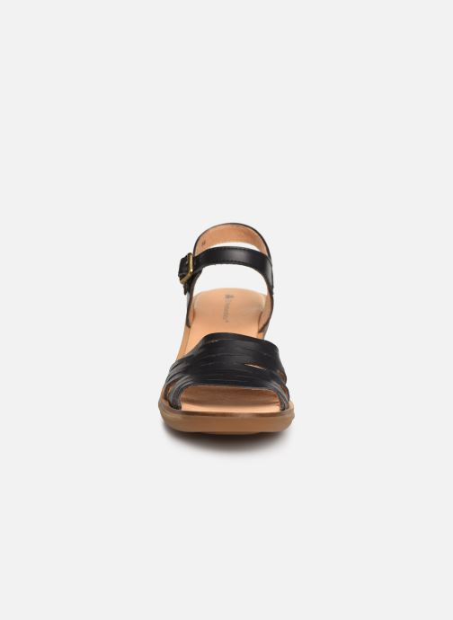 Sandals El Naturalista Vaquetilla N5352 Black model view