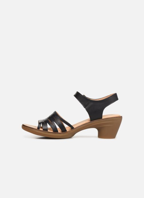 Sandales et nu-pieds El Naturalista Vaquetilla N5352 Noir vue face