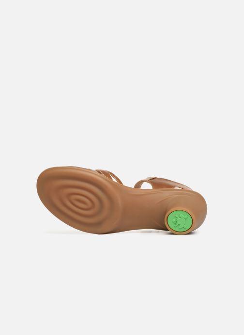 Sandales et nu-pieds El Naturalista Vaquetilla N5352 Marron vue haut