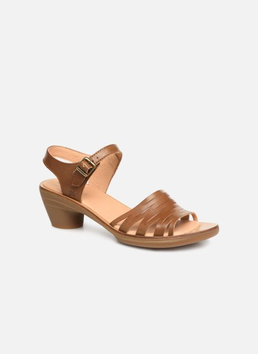 Sandales et nu-pieds El Naturalista Vaquetilla N5352 Marron vue détail/paire