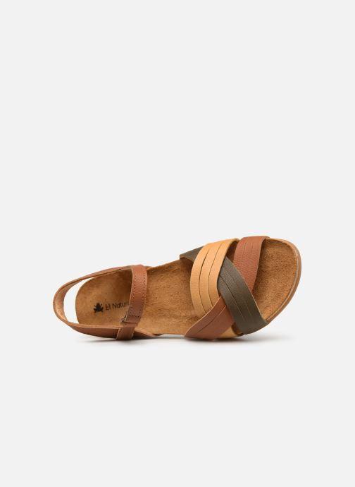 Sandales et nu-pieds El Naturalista Zumaia N5242 Marron vue gauche