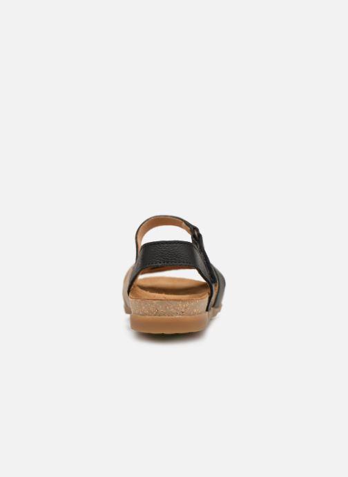 Sandales et nu-pieds El Naturalista Zumaia N5242 Noir vue droite
