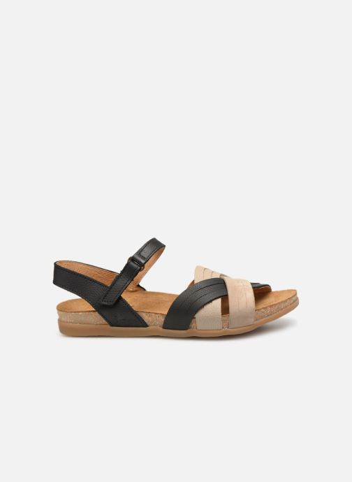 Sandals El Naturalista Zumaia N5242 Black back view
