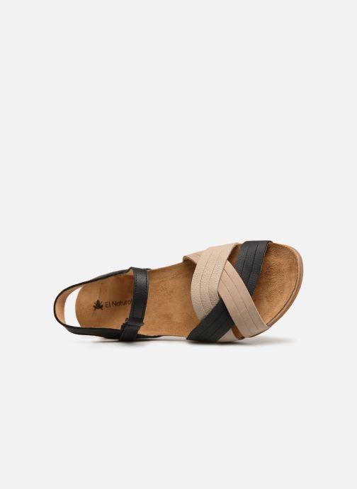 Sandales et nu-pieds El Naturalista Zumaia N5242 Noir vue gauche