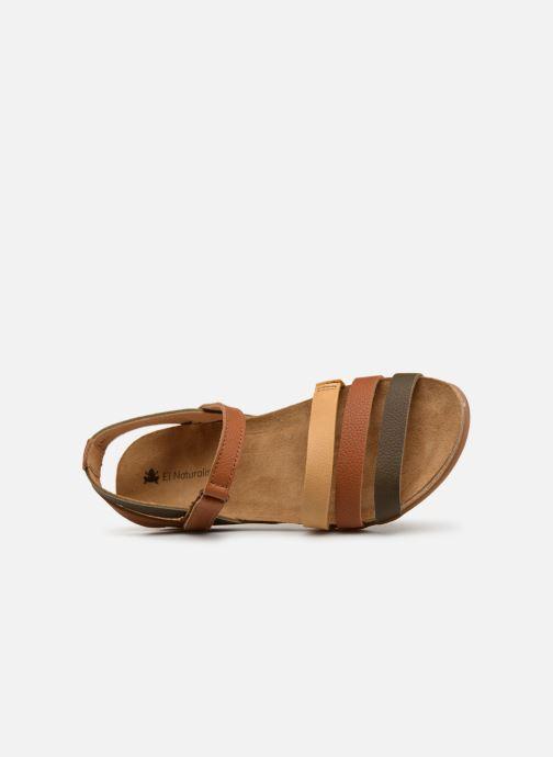 Sandales et nu-pieds El Naturalista Zumaia N5244 Marron vue gauche