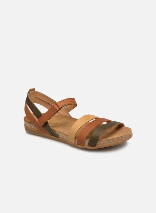 Sandales et nu-pieds El Naturalista Zumaia N5244 Marron vue détail/paire