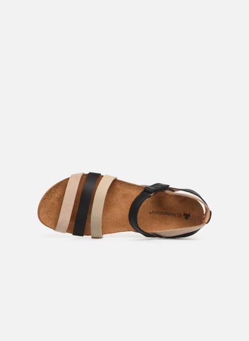 Sandales et nu-pieds El Naturalista Zumaia N5244 Noir vue gauche