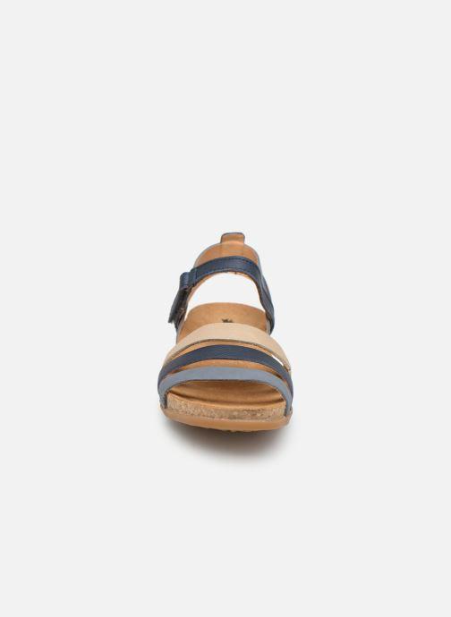 Sandales et nu-pieds El Naturalista Zumaia N5244 Bleu vue portées chaussures