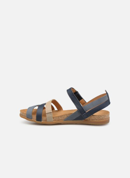 Sandals El Naturalista Zumaia N5244 Blue front view