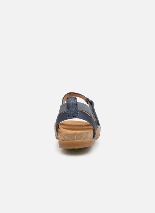 Sandales et nu-pieds El Naturalista Zumaia N5244 Bleu vue droite