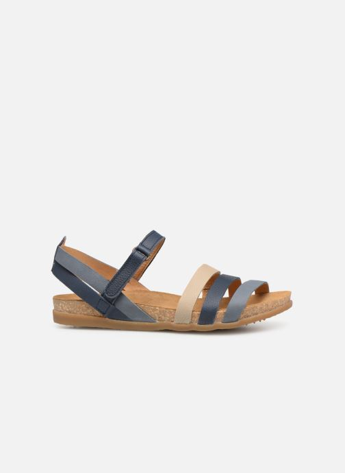 Sandals El Naturalista Zumaia N5244 Blue back view
