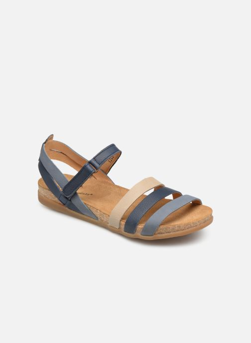 Sandals El Naturalista Zumaia N5244 Blue detailed view/ Pair view