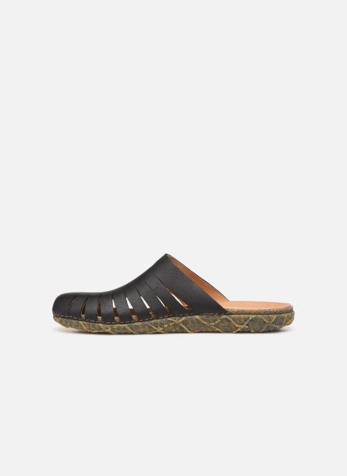 Sandals El Naturalista Redes N5504 Black front view